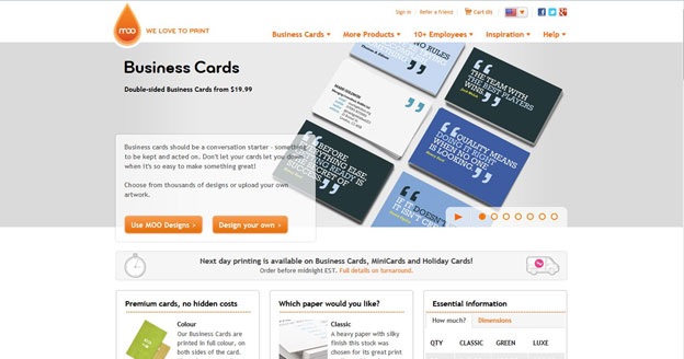 Moo review business cards reheart Gallery